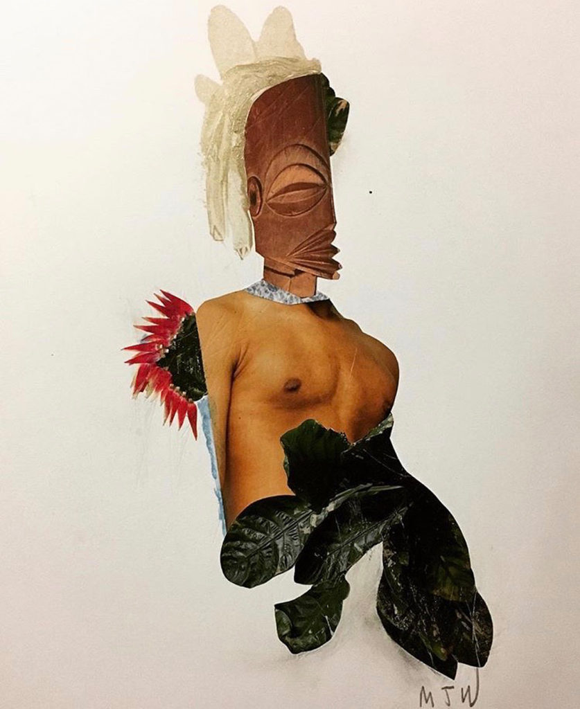 Collage art by Mark Jason Weston