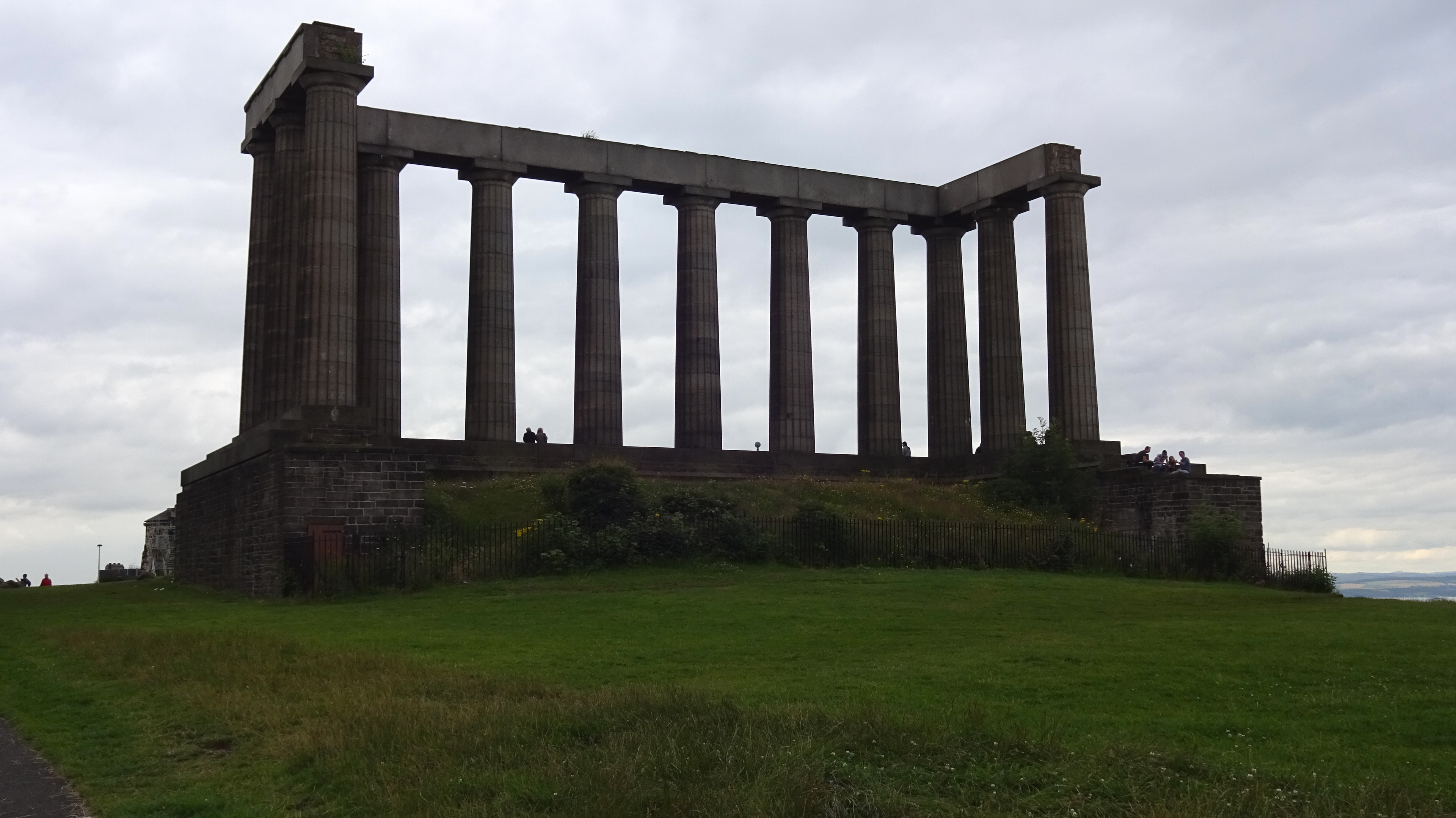 National Monument of Scotland, Calton Hill, Edinburgh.